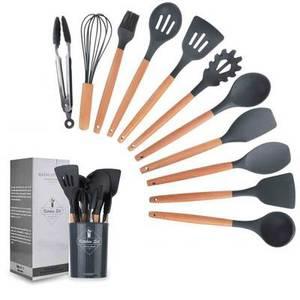 Bilde av Grått sett med kjøkkenredskaper