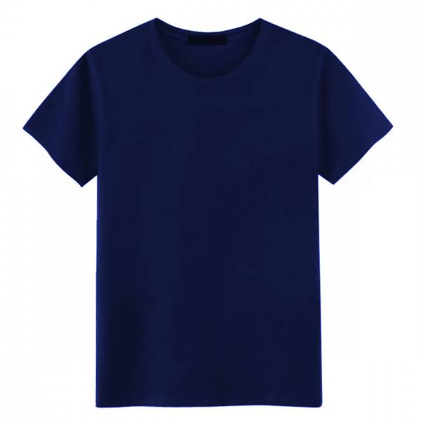 Mørk blå bambus t-skjorte herrer
